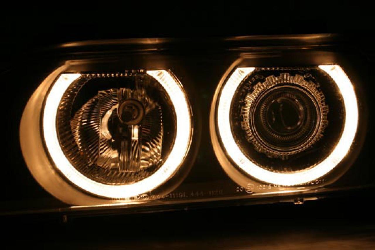 Faruri Angel Eyes BMW Seria 5 E39 (95-03) Xenon
