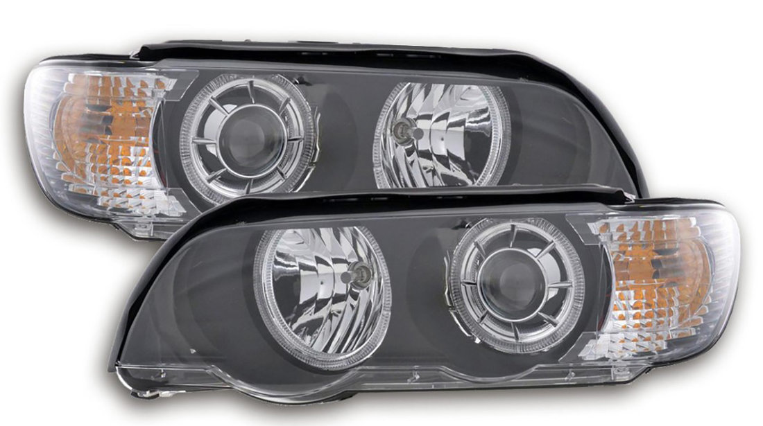 Faruri Angel Eyes BMW X5 E53 (99-03) Xenon