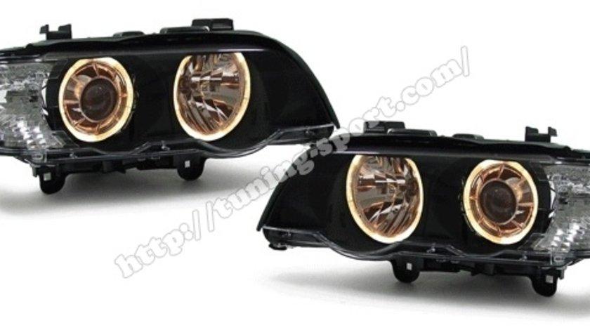FARURI ANGEL EYES BMW X5 E53 FUNDAL BLACK -COD FKFSBM053