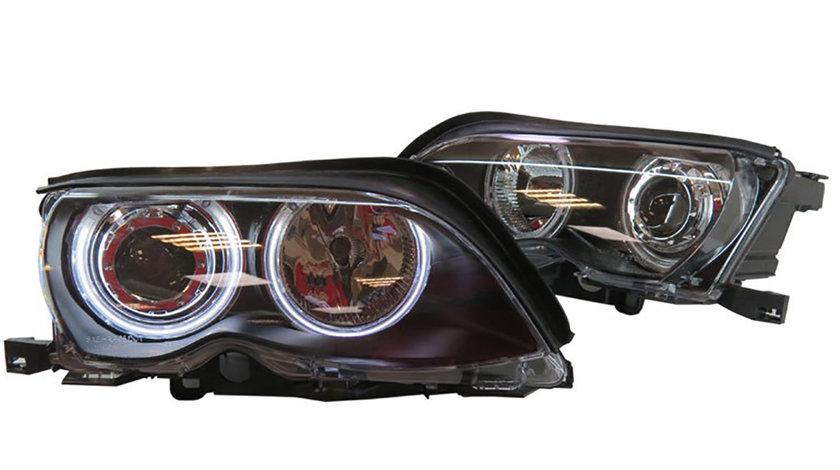 Faruri Angel Eyes CCFL BMW E46 Seria 3
