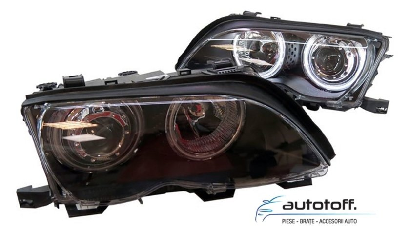 Faruri Angel Eyes CCFL BMW Seria 3 E46 (2001-2005)