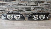 Faruri Angel Eyes compatibil cu BMW Seria 5 E39 Fa...
