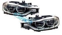 Faruri Angel Eyes Full LED BMW Seria 3 F30 F31 con...