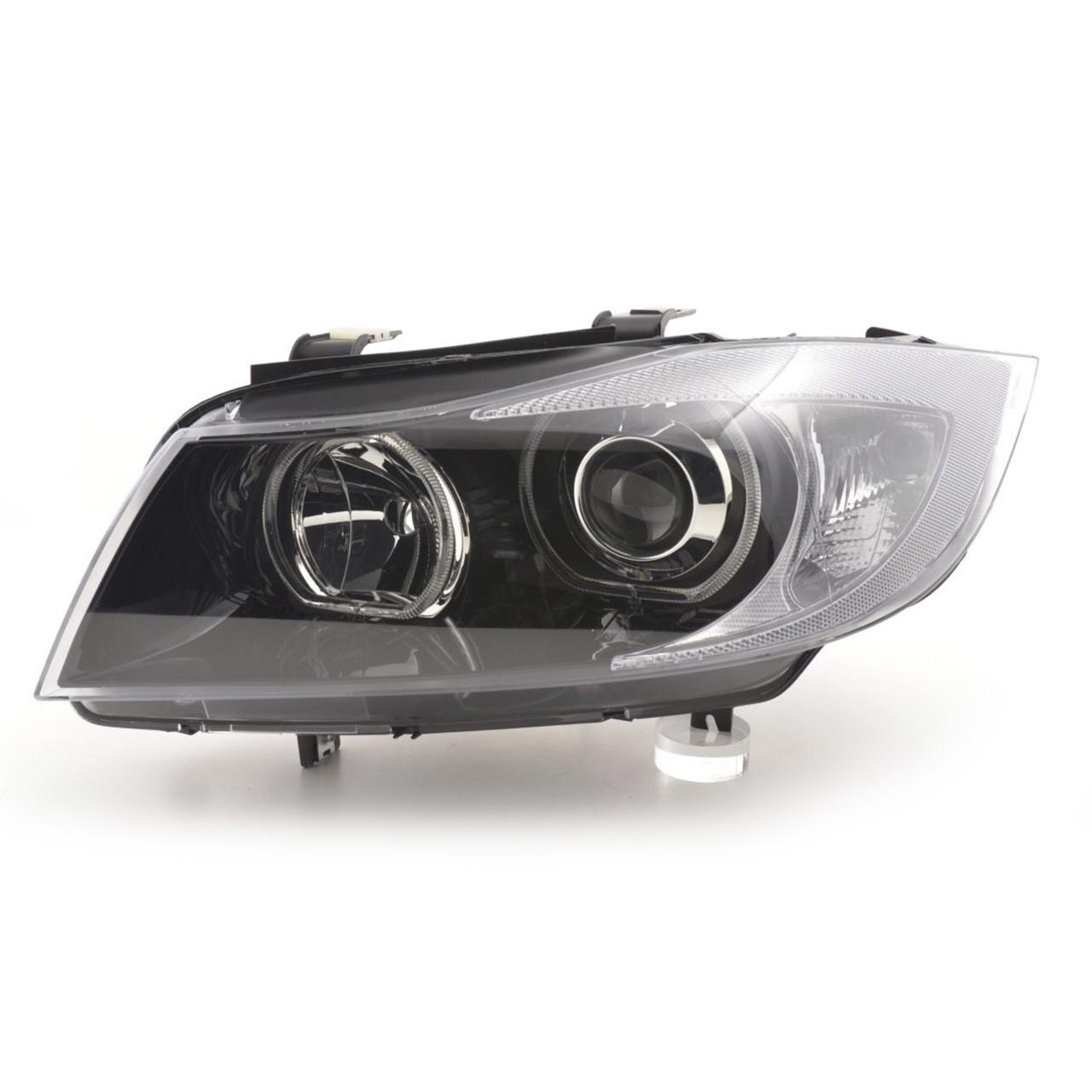 Faruri angel eyes LED BMW E90 E91 seria 3