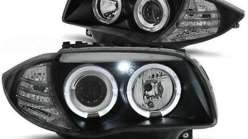 Faruri Angel Eyes LED BMW SERIA 1 E87 E88 ȘI E81 E82