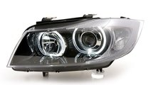 Faruri Angel Eyes LED BMW Seria 3 E90/E91 (2005-20...