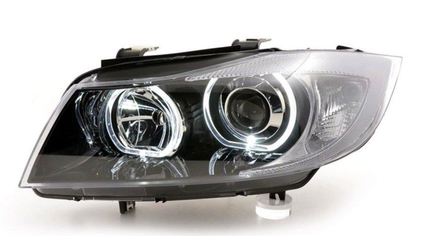 Faruri Angel Eyes LED BMW Seria 3 E90/E91