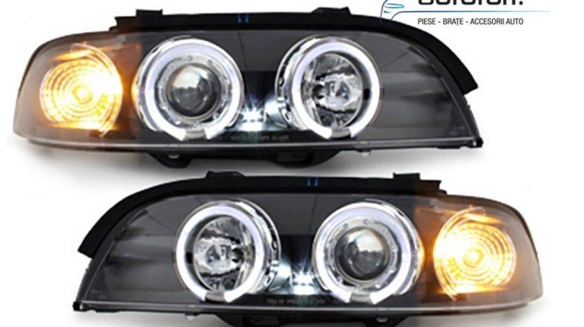 Faruri Angel Eyes LED BMW Seria 5 E39 (1995-2003)