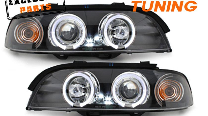 Faruri Angel Eyes LED BMW Seria 5 E39 (95-03)