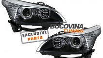 Faruri Angel Eyes LED BMW seria 5 E60 (2005-2007)