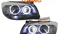 Faruri Angel Eyes LED BMW X1 E84 (09-12)