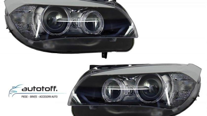 Faruri Angel Eyes LED BMW X1 E84 (2009-2012)