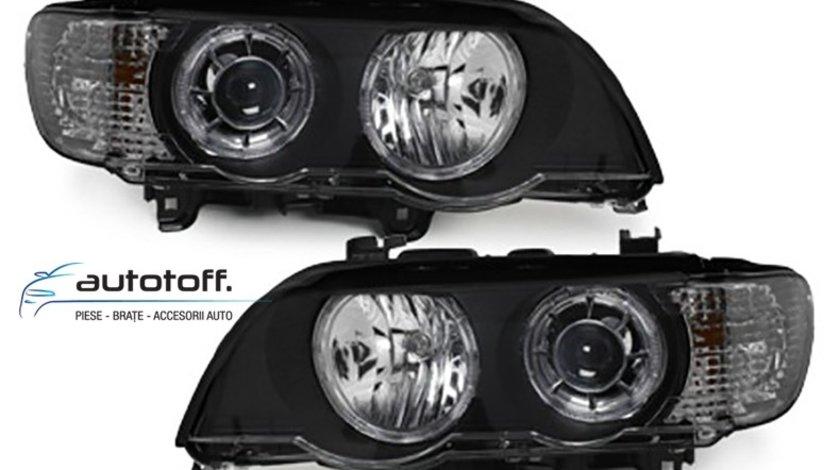 Faruri Angel Eyes LED BMW X5 E53 (1999-2003)