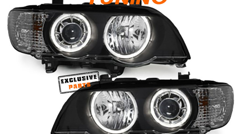Faruri Angel Eyes LED BMW X5 E53 (99-03)