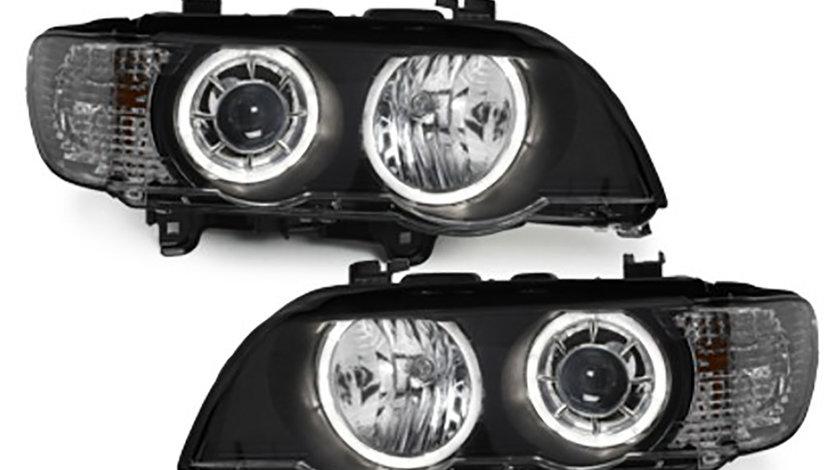 Faruri Angel Eyes LED BMW X5 E53 (99-03)