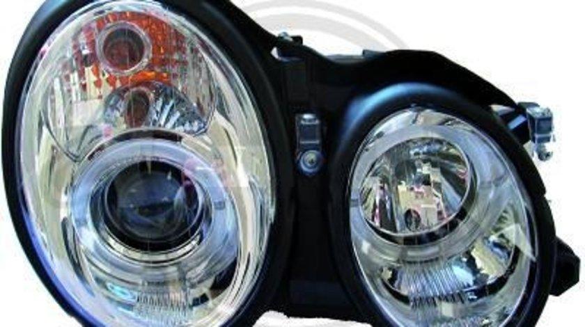 FARURI ANGEL EYES MERCEDES W210 FUNDAL CROM -COD 1614780