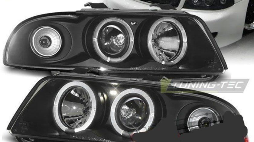 Faruri Angel Eyes pentru Audi A4 B5
