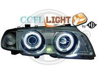 FARURI ANGEL EYES PENTRU BMW E46 FUNDAL CROM SAU NEGRU CU CCFL