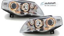 Faruri Angel Eyes VW Passat 3C (2005-2010) Fundal ...