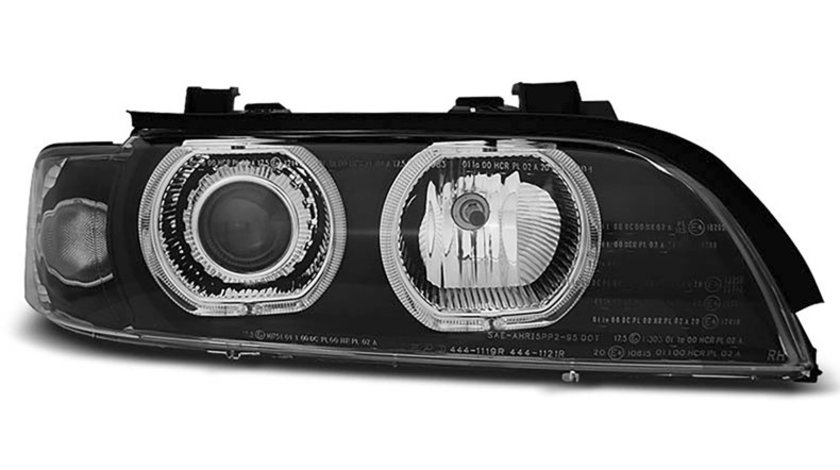 Faruri Angel Eyes Xenon LED BMW Seria 5 E39 (1995-2003)