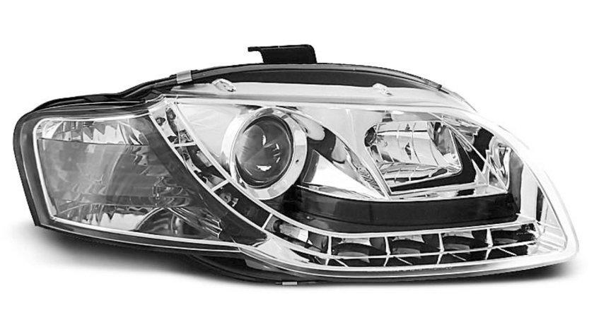 Faruri Audi A4 B7 intre 2004-2008 Daylight Cromat