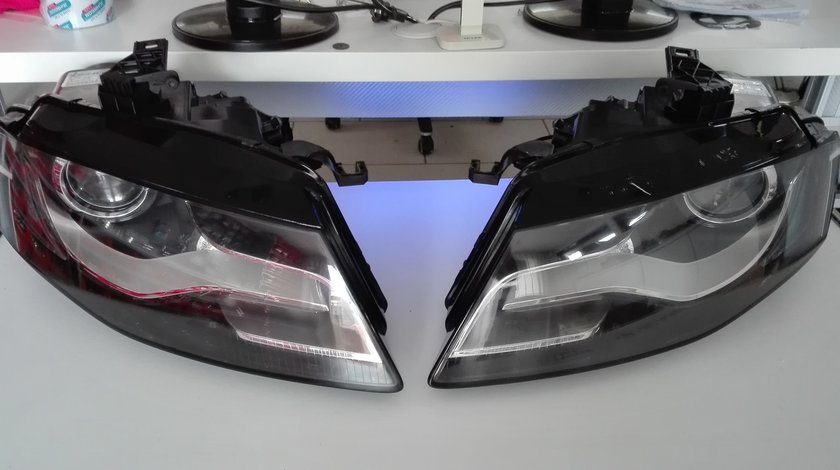 Faruri Audi A4 B8 Bixenon (varianta originala)