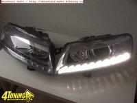 Faruri bi xenon Audi A6 4F 2005 2011 led tfl