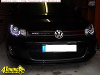 Faruri bi xenon VW GOLF 6 led tfl