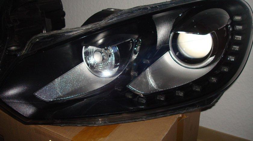 Faruri bi xenon VW GOLF 6 led tfl