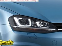 Faruri bi xenon VW GOLF 7 led tfl