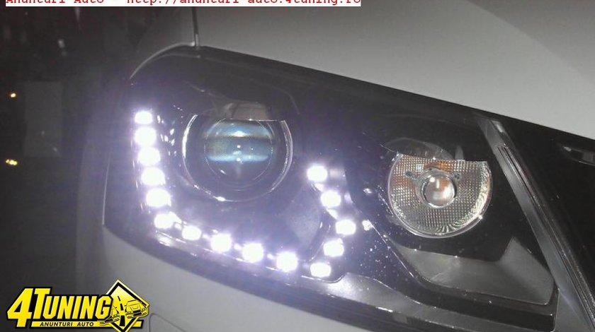 Faruri bi xenon VW Passat B7 led tfl 2011