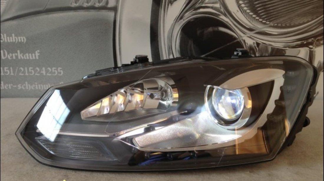 Faruri bi xenon VW Polo 6R 2011 led tfl
