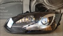 Faruri bi xenon VW Polo 6R 2011 led tfl