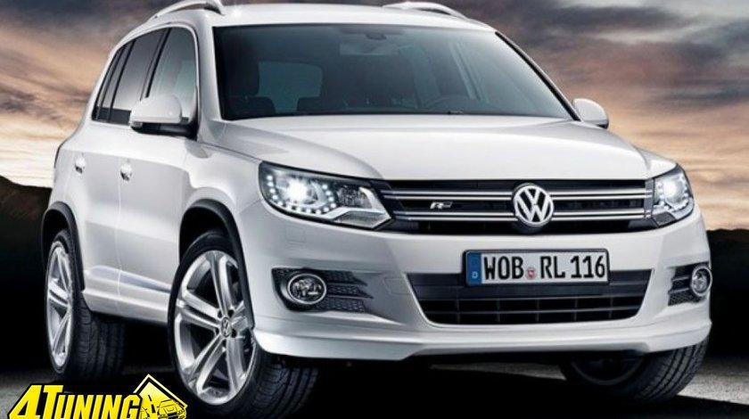 Faruri bi xenon VW Tiguan facelift led tfl