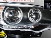 Faruri BMW E60 E61 angel eyes CCFL / LCI look