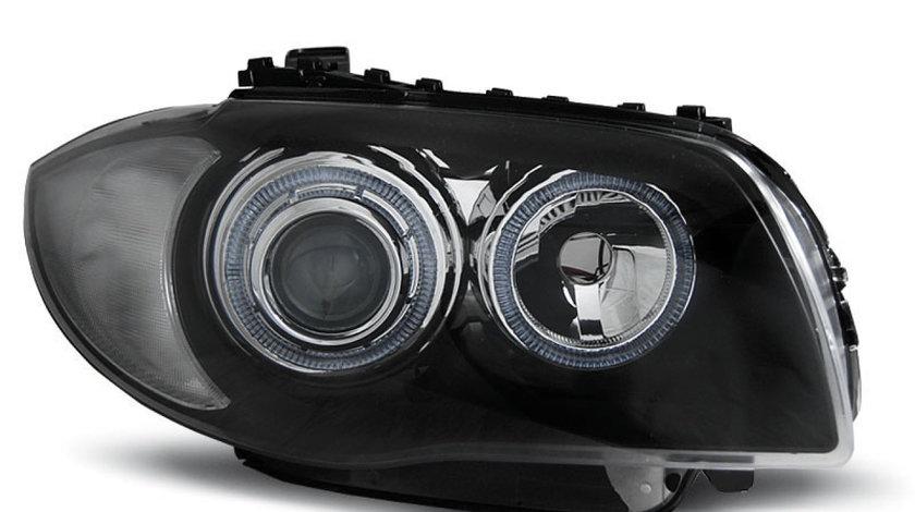 Faruri BMW E87 / E81 / E82 / E88 2004-2011 Negru
