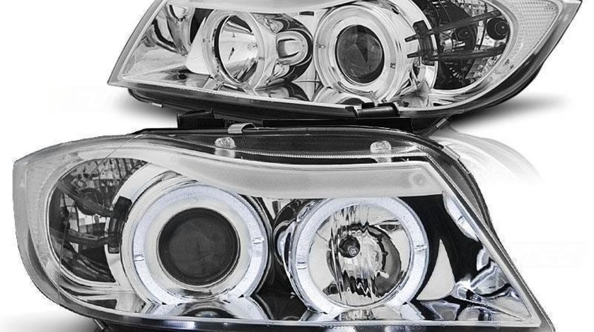 Faruri Bmw E90 angel eyes
