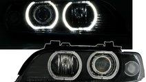 Faruri BMW seria 5 E39 cu lupa si angel eyes model...