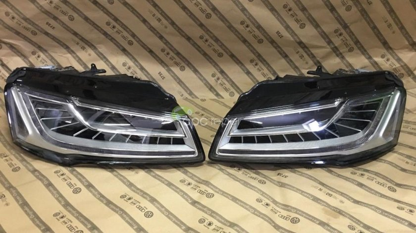 Faruri complete Audi A8 4H Facelift - 4H0941036 - 4H0941035