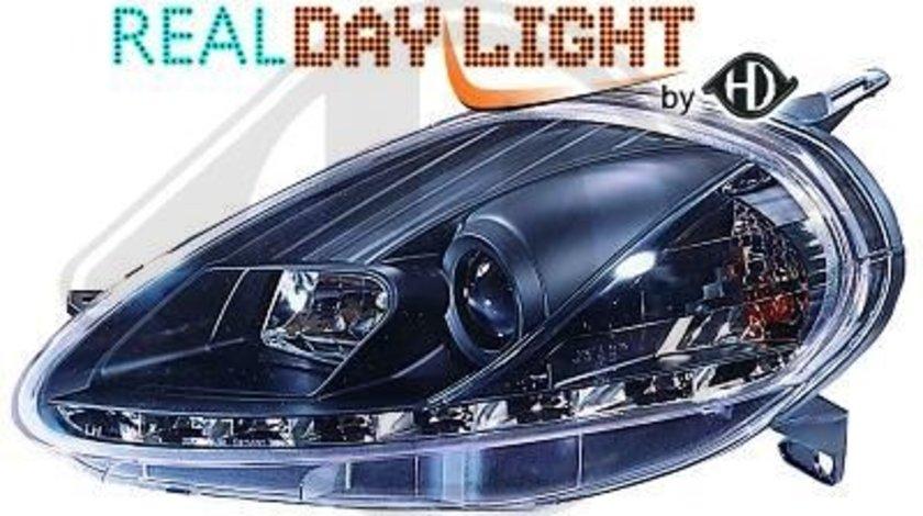 FARURI DAYLINE/DAYLIGHT FIAT GRANDE PUNTO FUNDAL BLACK(R87)-COD 3456785