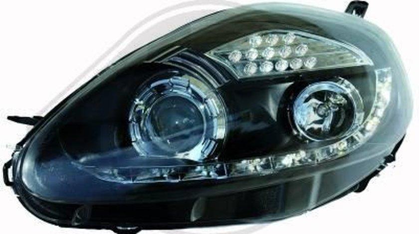 FARURI DAYLINE/DAYLIGHT FIAT GRANDE PUNTO FUNDAL BLACK -COD 3456585