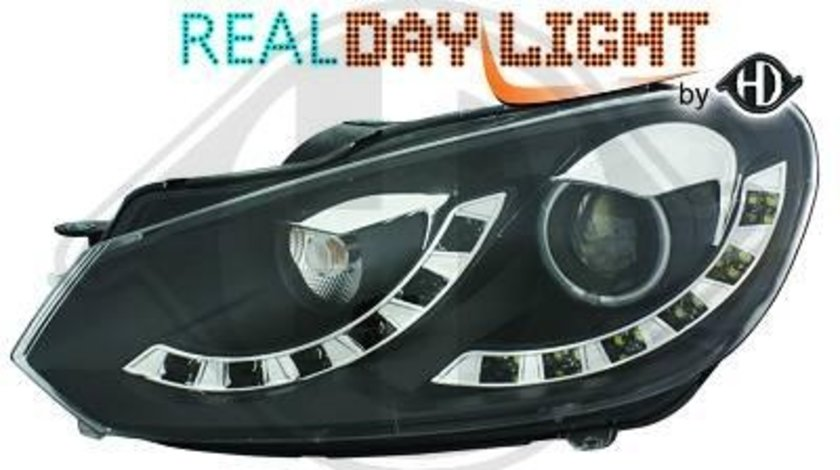 FARURI DAYLINE/DAYLIGHT VW GOLF VI FUNDAL BLACK -COD 2215886