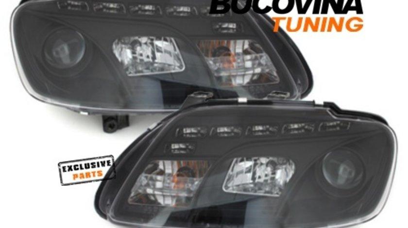 FARURI DAYLINE LED VW TOURAN 1T (03-06) CADDY 2K (03-10) BLACK