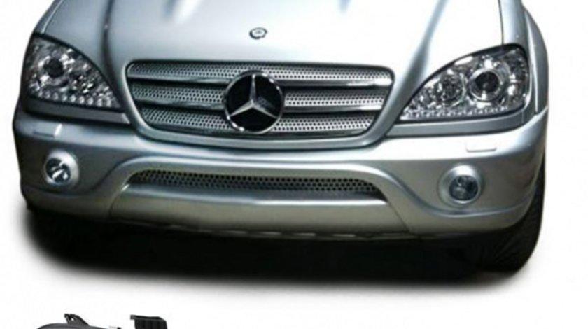 Faruri dayline Mercedes W164 fundal crom - COD MB8002