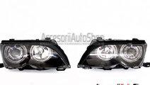 Faruri E46 Facelift 2002-2005 Cu lupa si Angel Eye...