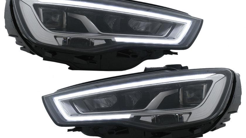 Faruri Full LED Audi A3 8V Pre-Facelift (13-16) cu Semnalizare Dinamica Secventiala