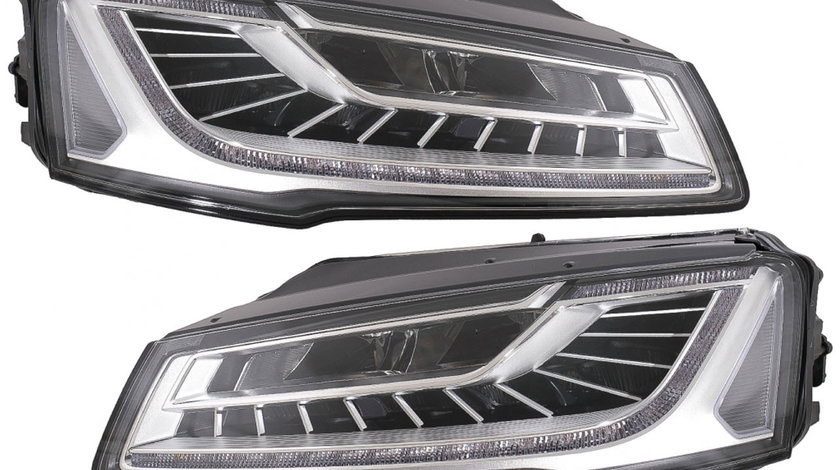 Faruri Full LED Audi A8 D4 (14-17) MATRIX Design