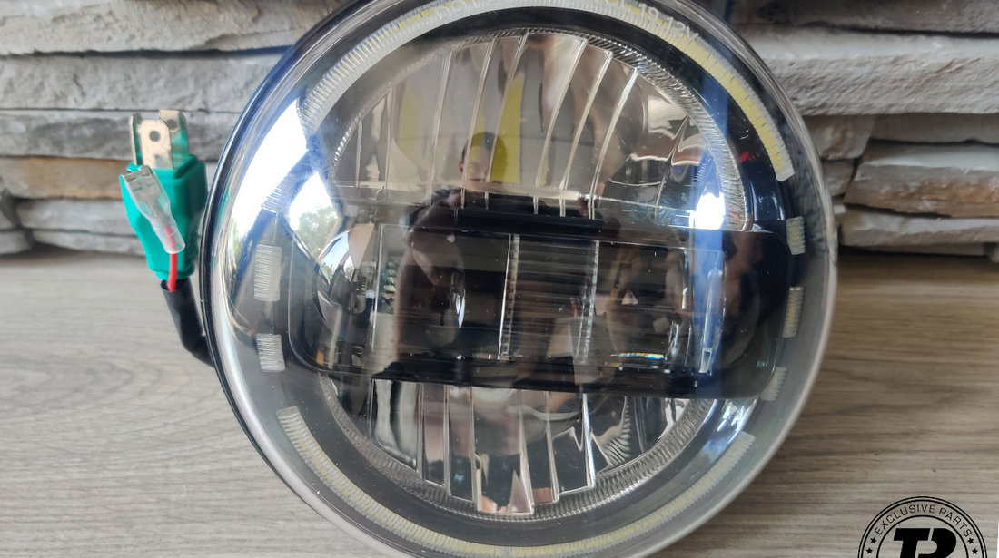 Faruri Full LED CREE JEEP Wrangler JK TJ LJ (07-17)