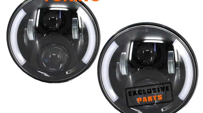 Faruri Full LED CREE Mercedes Benz G-Class W463 (89-17) Black