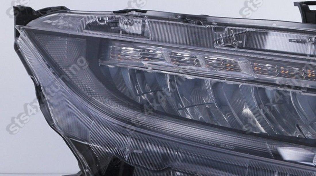 FARURI FULL LED CU SEQUENTIAL LED SEMNALIZARE HONDA CIVIC 2016-2019 [V1]